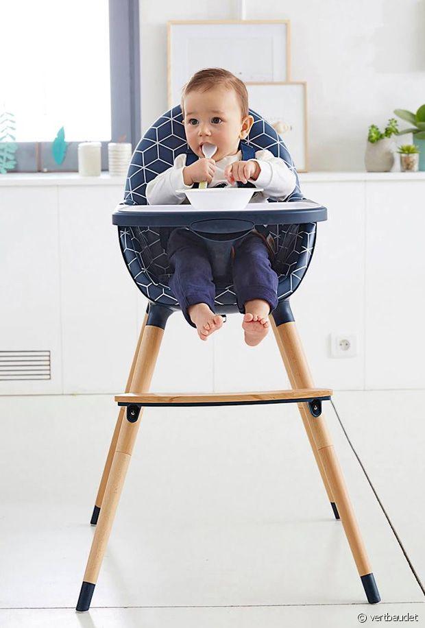 A Quel Age Bebe Peut Il S Asseoir Dans Une Chaise Haute Les Bonnes Bouilles