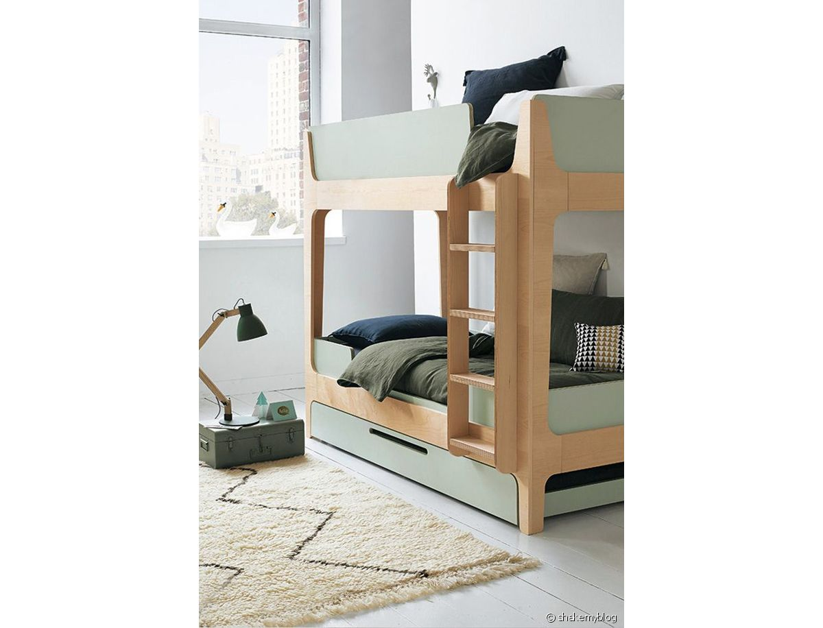 Lit Superposé 3 Étages intégrer un lit superposé dans une chambre d'enfant - les