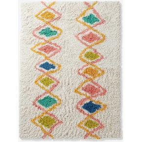 6101100836350000 tapis arlequin multicolore